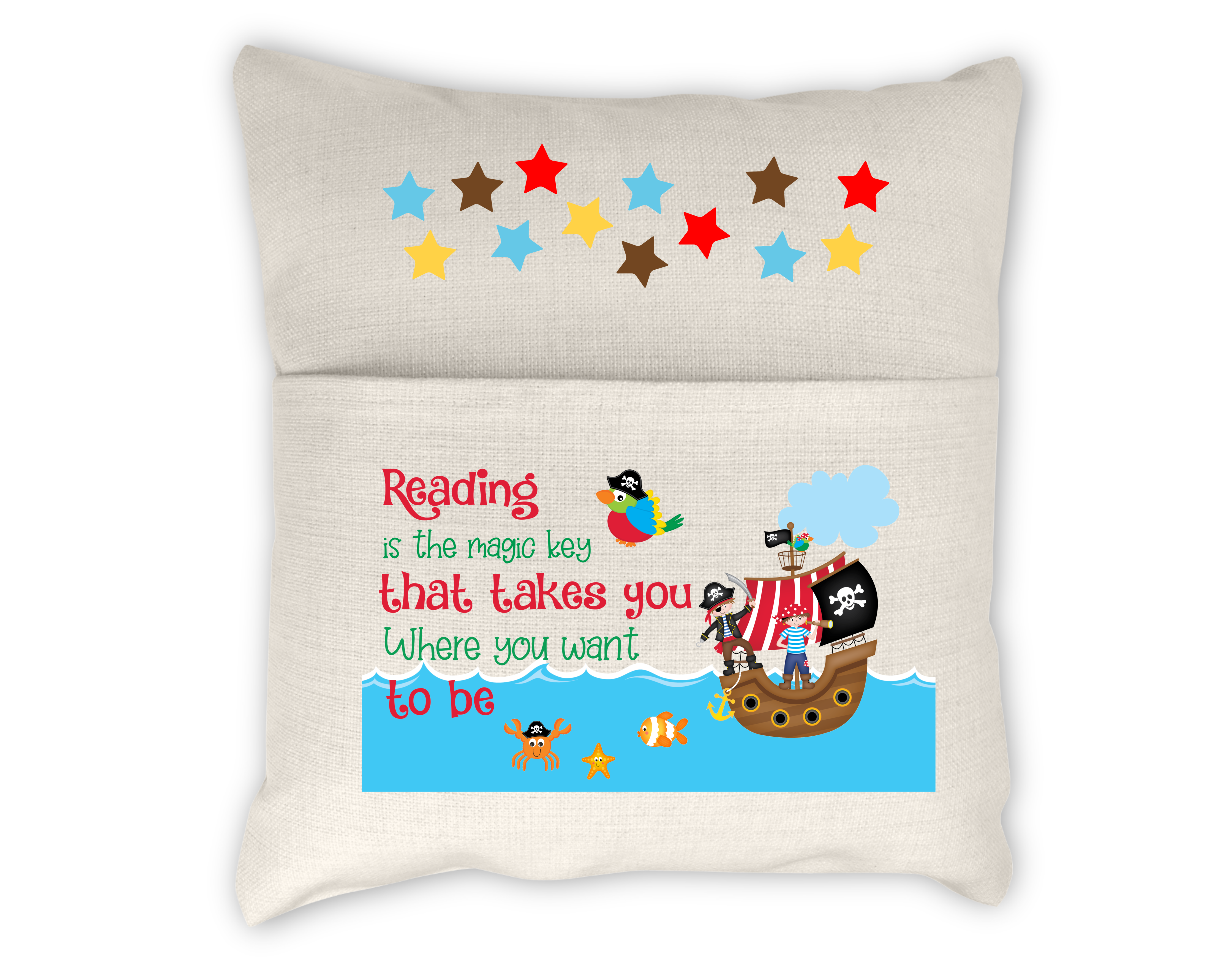 pirate - reading is the magic key