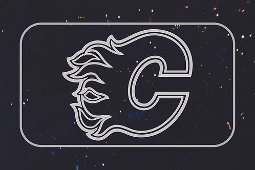 Calgary Flames LED light