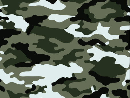 Process for Camouflage Mosaic Decal