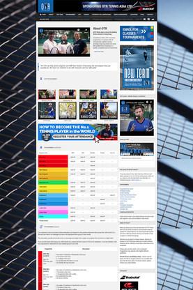 OTR Tennis Website