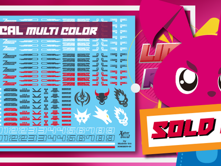 Caution decal (multi-color ) are sold out!!
