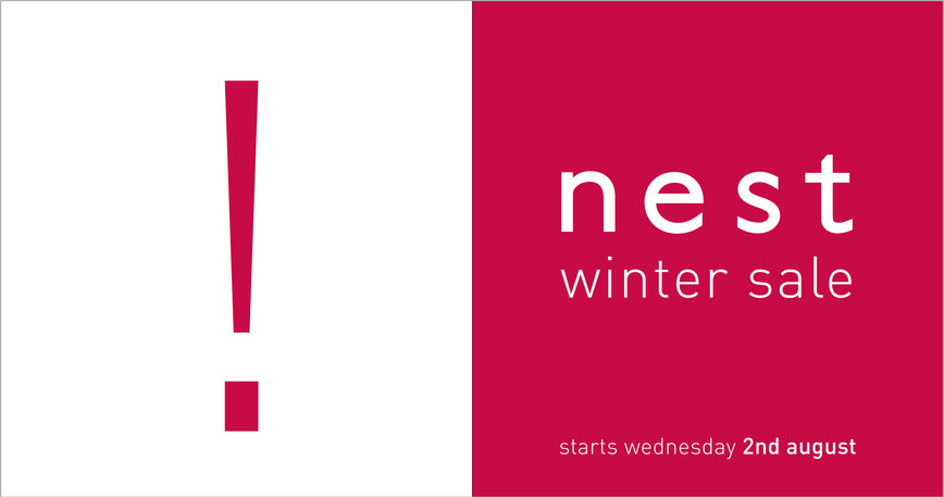 Winter sale promotional graphics used across advertsing, mailer and instore signage