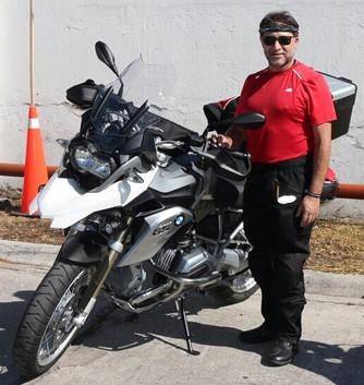 La muerte llegó en moto