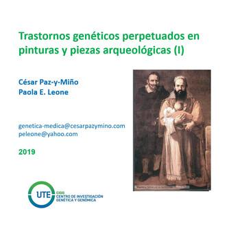 Problemas genéticos perpetuados en el arte y la arqueología (I)