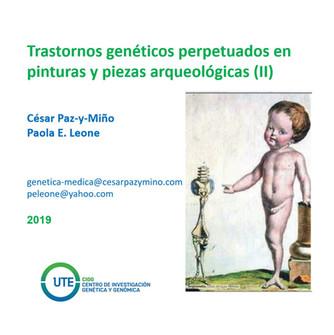 Problemas genéticos perpetuados en el arte y la arqueología (II)