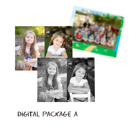 Digital Package -Individual Child (2 images + group)
