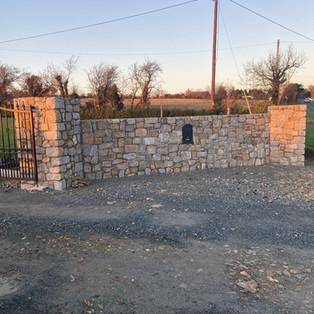 Granite Stone Entrance