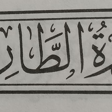 Lessons from Sūrah 86 - Sūrat Aṭ-Ṭāriq