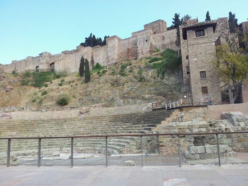 Alcazaba Fortress, Malaga, Spain