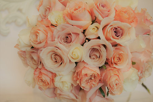 99 Mixed Pastel Color Deluxe Roses