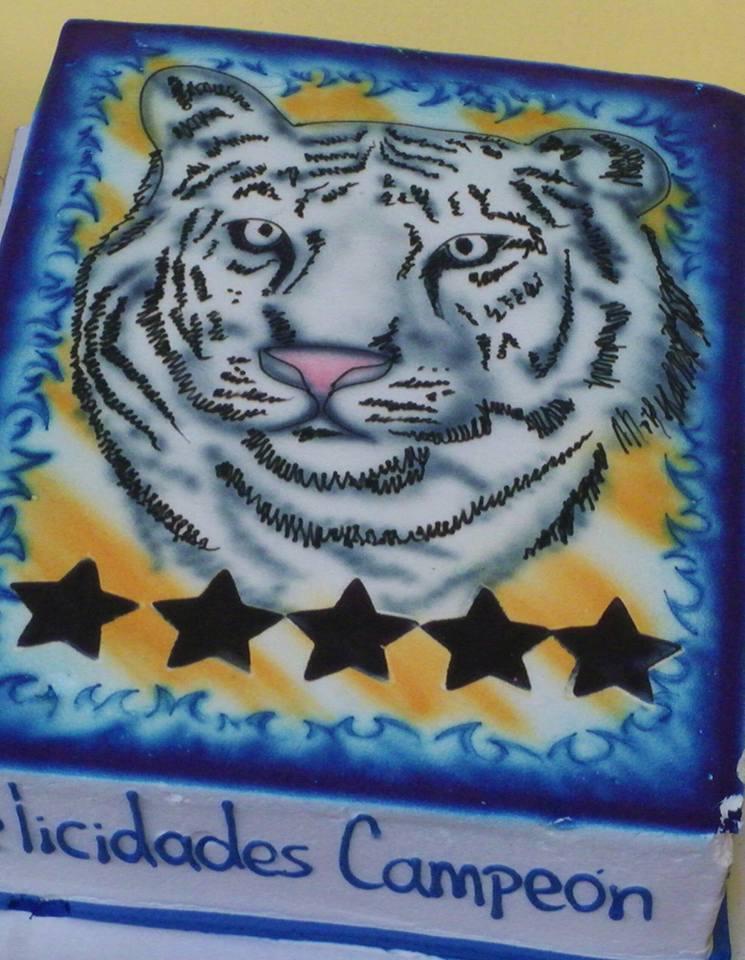 pastel de tigres