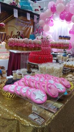 galletas mesa de postres