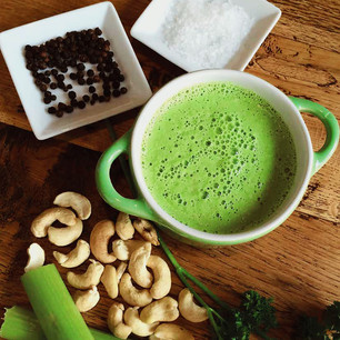 Raw Creamy Celery Soup
