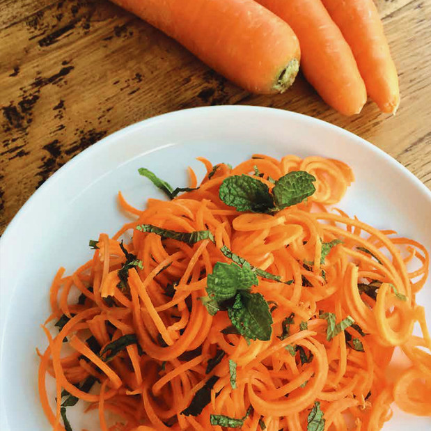 Carrot & Mint Salad