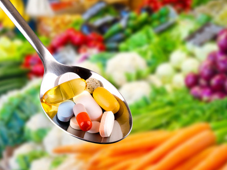 Real Food vs. Supplements
