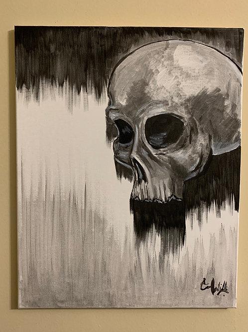 India Ink Skull