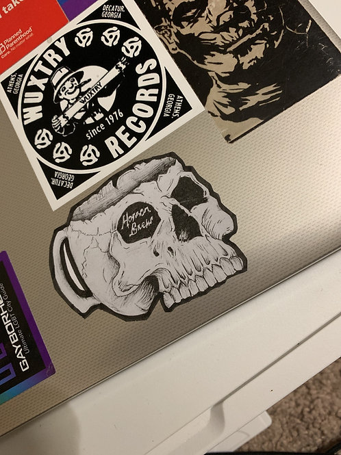 Horror Brew logo stickers!