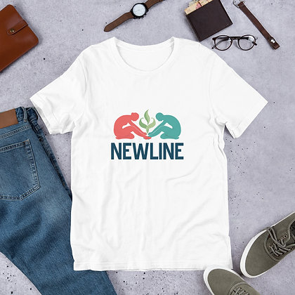 NewLine Massage & Wellness Short-Sleeve Unisex T-Shirt