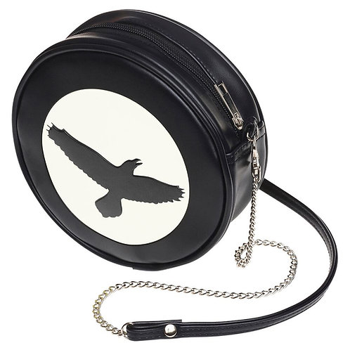 The Raven Little Black Purse