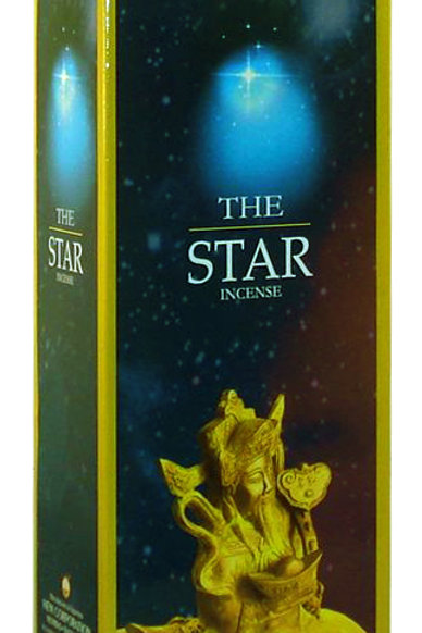 The Star  Incense Sticks 20