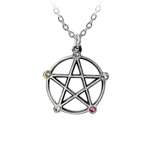 Wiccan Elemental Pentacle