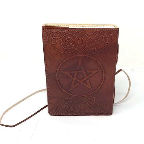 Leather Journal Pentacle