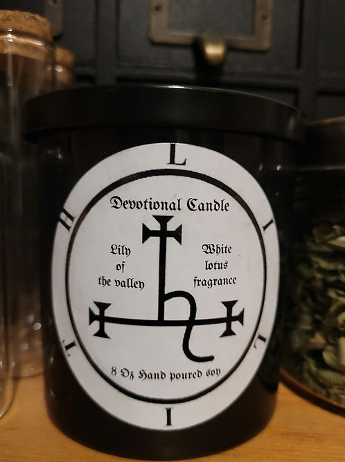Lilith Devotional Spell Candle