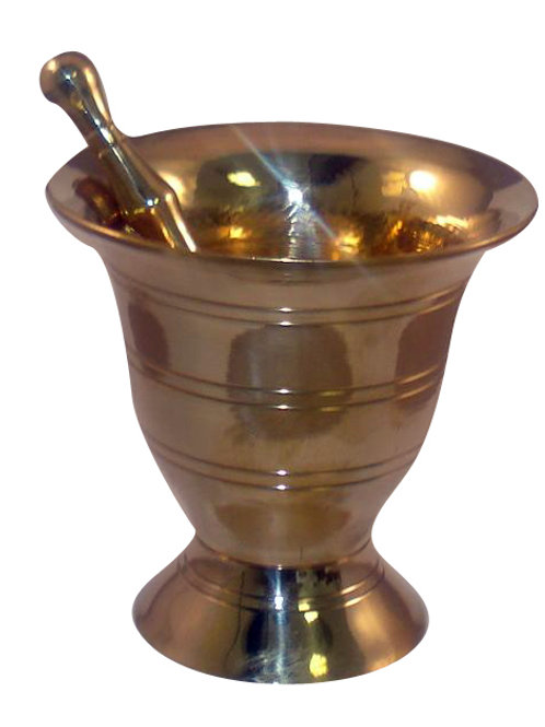 Brass Mortar & Pestle (small)
