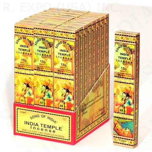 India Temple 12 Incense Sticks