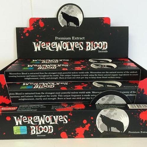 Werewolves Blood 12 Incense sticks