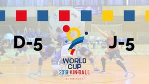 J-5 pour la Coupe du Monde de Kin-Ball 🏆