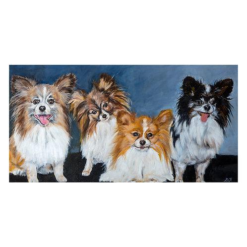 Four Doggies