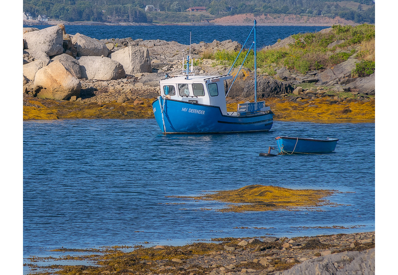 Blue Rocks, Blue Boats