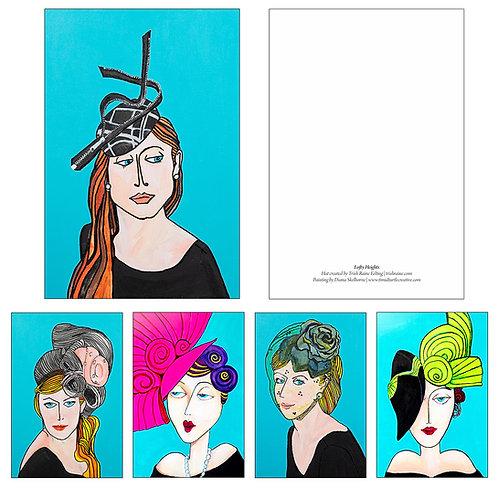 Beautiful Hats Postcards