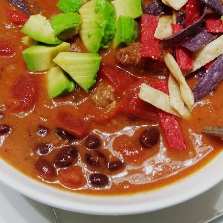 Taco Soup Bowl