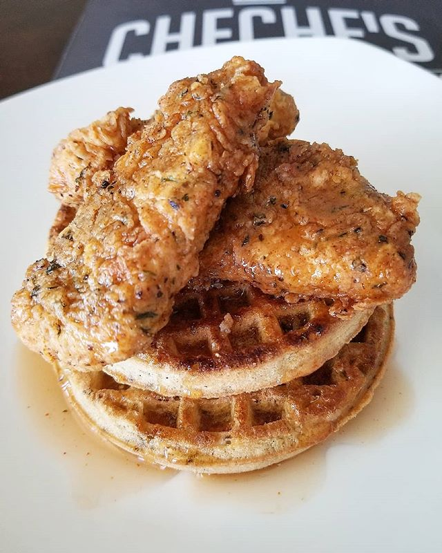 Chick'n & Waffles