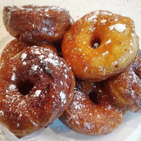 Vanilla Maple Glazed Donuts
