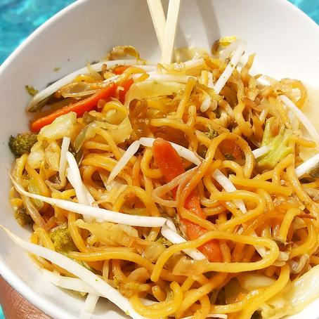 Noodle Veggie Stir Fry