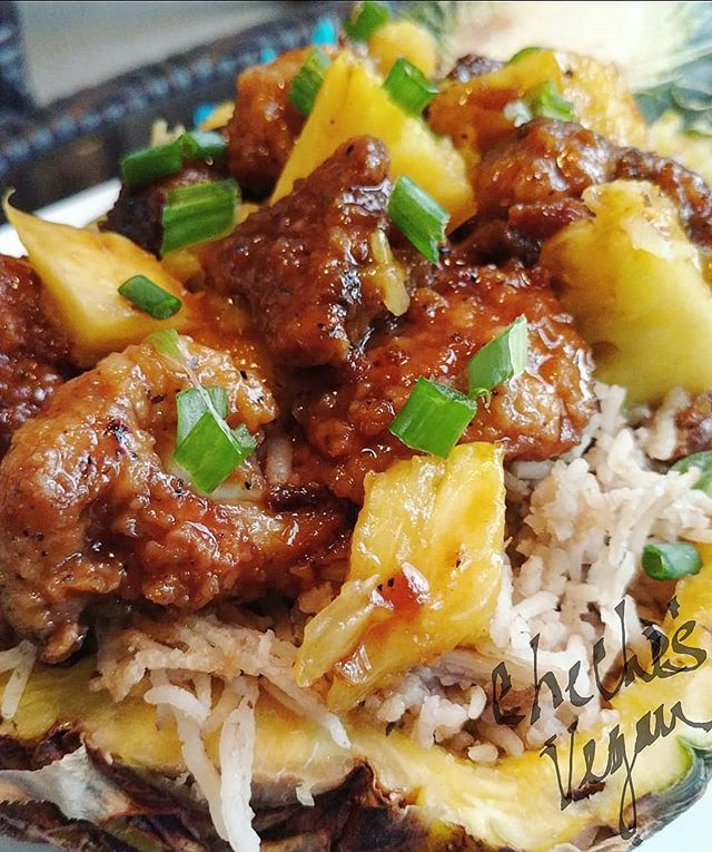 Sweet & Sour Cauli Pineapple Bowl
