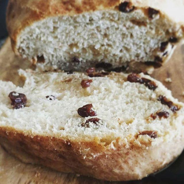 Our  Cinnamon Raisin Bread