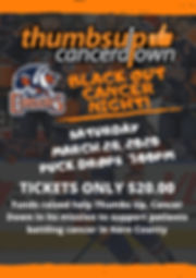 Orange Dark Grey Photo Hockey Poster.jpg