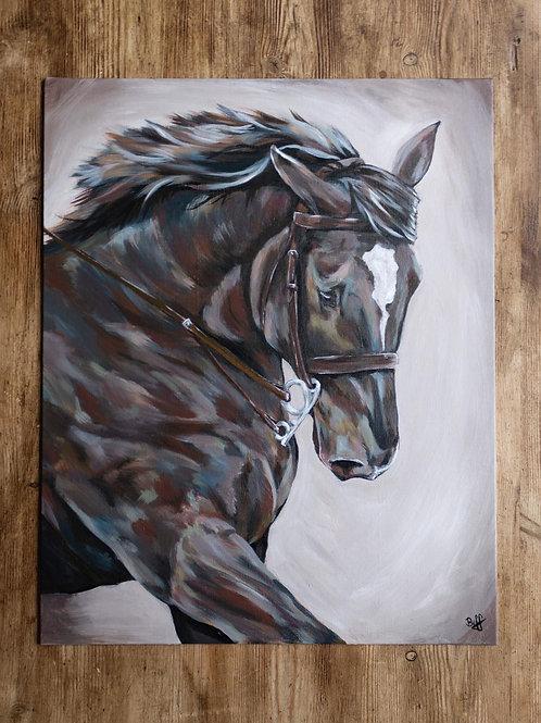 Acrylic Pet Portrait