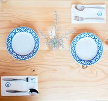 Plates from Bangkok