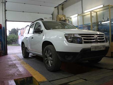 Установка ГБО на Renault Duster 4WD 2.0 135Hp
