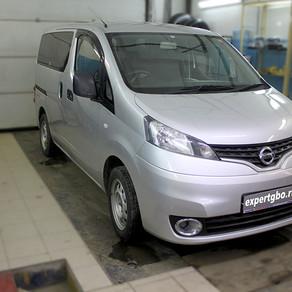 Nissan NV200 гбо