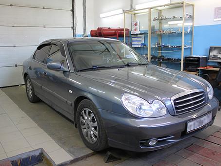 BRC Sequent & Hyundai Sonata 2002-2005 г.в