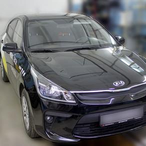 Kia Rio 4го поколения  переводим на газ