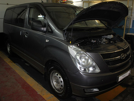 Hyundai Starex H-1 (II ) & гбо