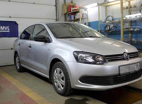 Volkswagen Polo теперь тоже на газе.