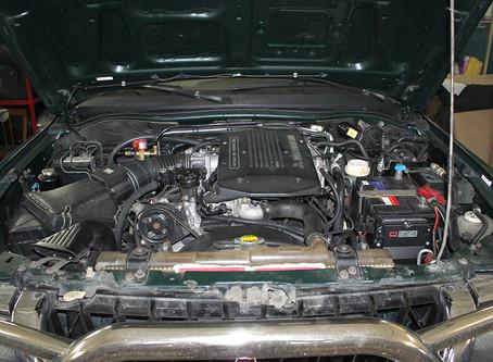 Mitsubishi Montero Sport монтаж гбо